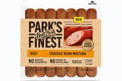 Parkâ??s Finest frankfurters, hot dog