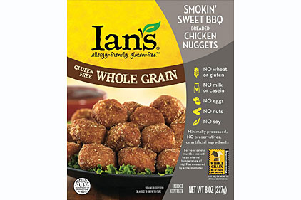 Ian's Natural Foods, gluten free, grain free, chicken