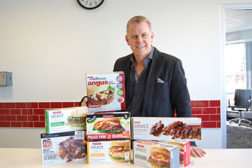 Brent Cator, president of Cardinal Meat Specialists