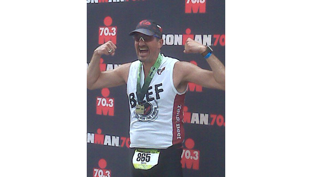 Darren Williams, beef industry, ironman