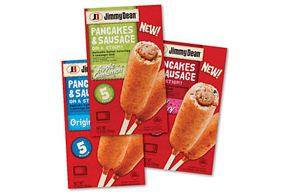 Pancakes & Sausage on a Stick, Jimmy Dean
