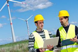 wind turbine. sustainability