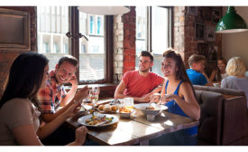 Consumers are looking for more creative dining formats and entrees at upscale casual restaurants