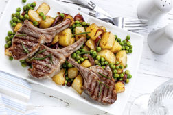 lamb chops, lamb consumption