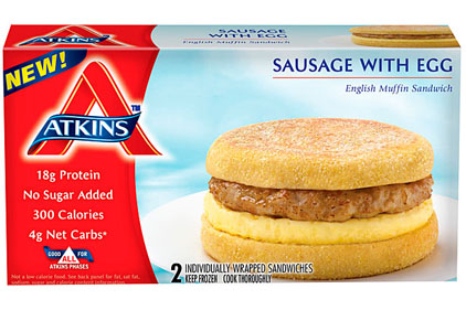 Atkins Diet Friendly Breakfast Sandwiches Hit The Market