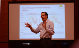 Dan Basee, president of Ag Resource Co., at the 2015 Feeding Quality Forum