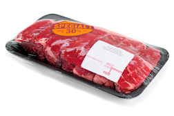 packaged meat