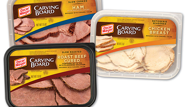 oscar mayer carving board meats