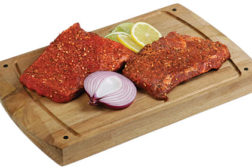 meat with marinade