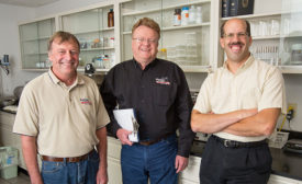 Marcho Farms employees, Rick Mesaris, Bob Russell, Brian Friesen
