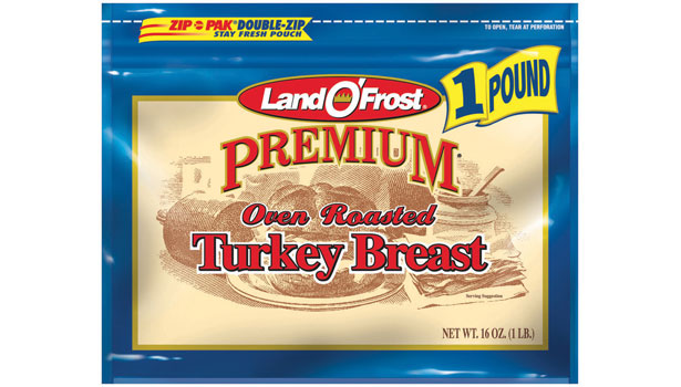 oven roasted turkey breast, land o' frost