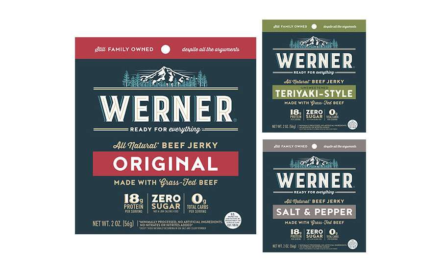 Werner Gourmet Meat Snacks