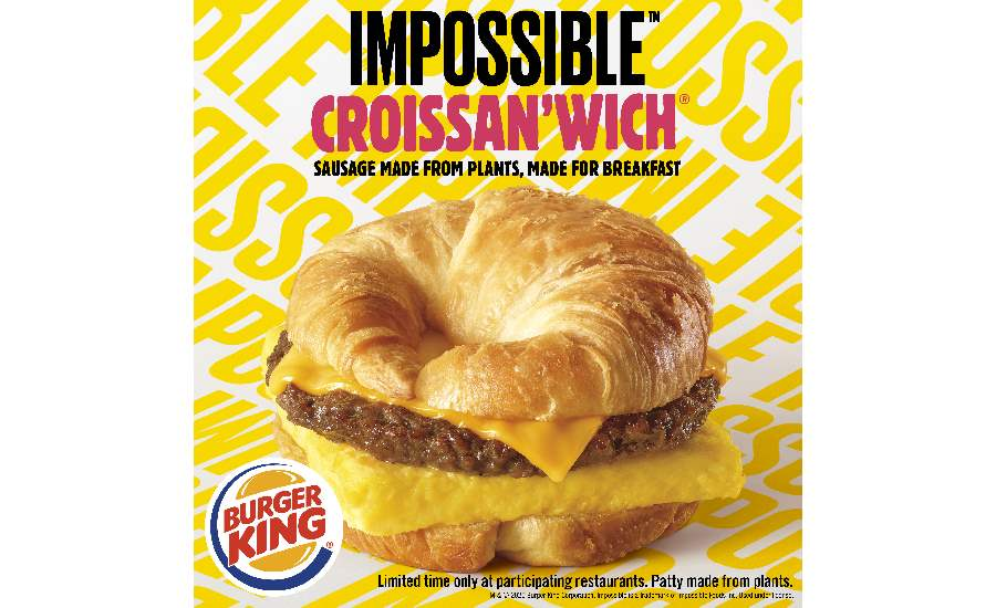 Burger King Impossible Crossainwich