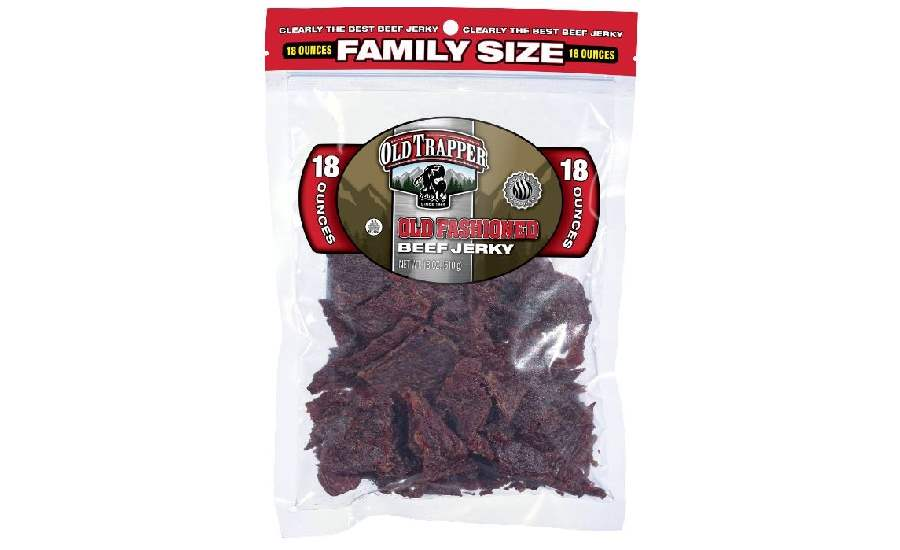 Old Trapper family pack jerky