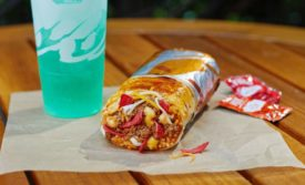 Taco Bell grilled cheese burrito