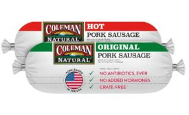Coleman Natural Foods sausage