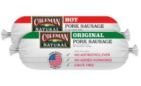 Coleman Natural Foods sausage