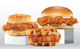 Hardee's chicken sandwiches