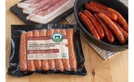 Niman Ranch bacon sausage