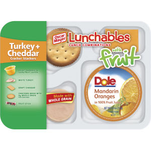 Oscar Mayer lunchables with fruit