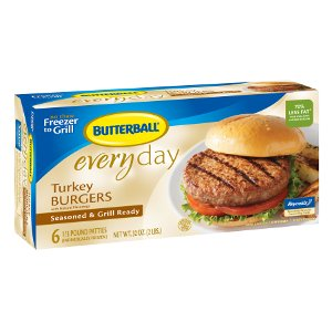 Butterball Everyday Frozen burgers