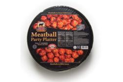 King's Command meatball platter