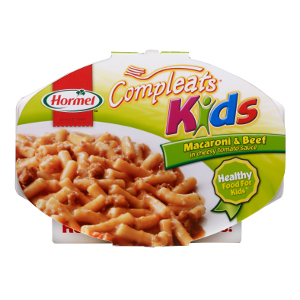 Hormel Compleats Kids Mac and Beef