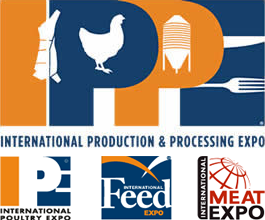 International Production & Processing Expo (IPPE) logo