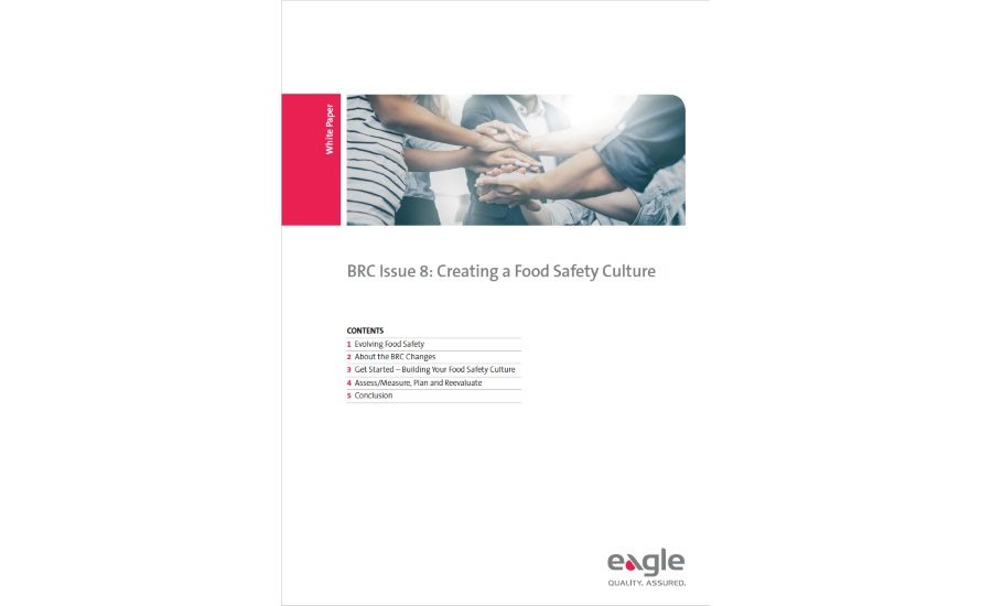 Eagle Offers New Guide For Building A Food Safety Culture