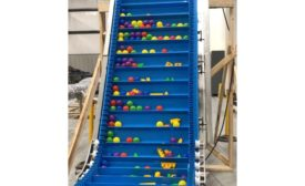 Multi-Conveyor elevated conveyor
