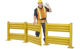 Steel King safety gate