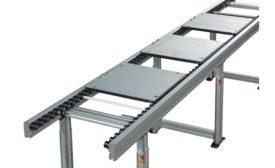 Dorner edge roller conveyor