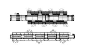 Multi-Conveyor COVID barriers