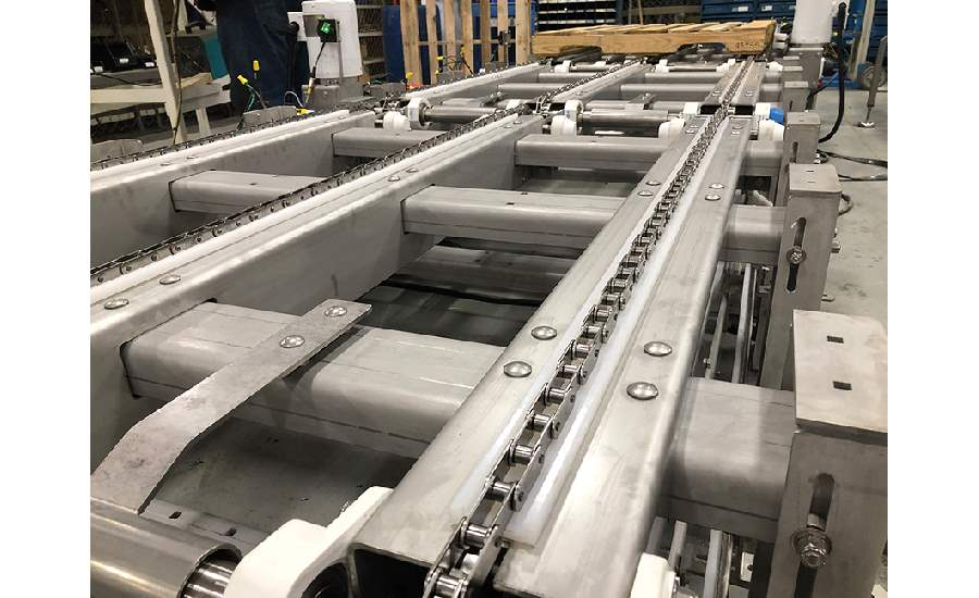 Multiconveyor pallet conveyor