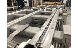 Multiconveyor pallet conveyor