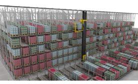 Interroll Pallet Conveyor