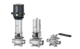 SPX Flow ball valve