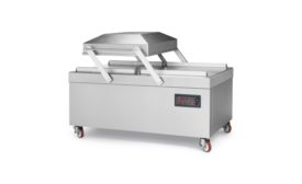 Hollymatic offers double chamber and floor model vacuum packaging machines