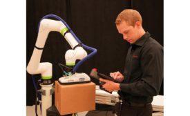 FANUC robots Pack Expo