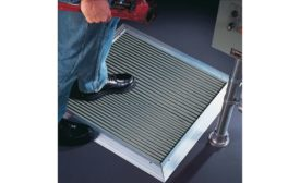 Rockford Systems' pressure-sensitive safety mats prevent employee injuries