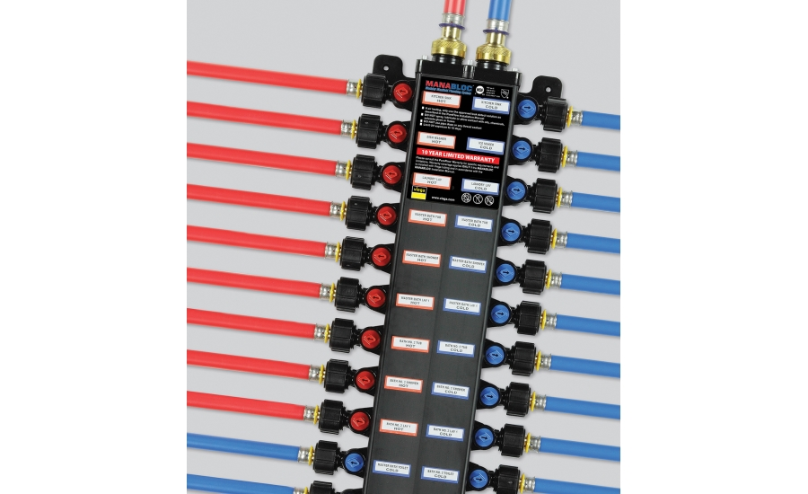 Viega offers manabloc plumbing manifold system for