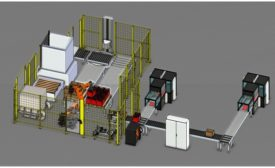 3D Palletizing Cell 900