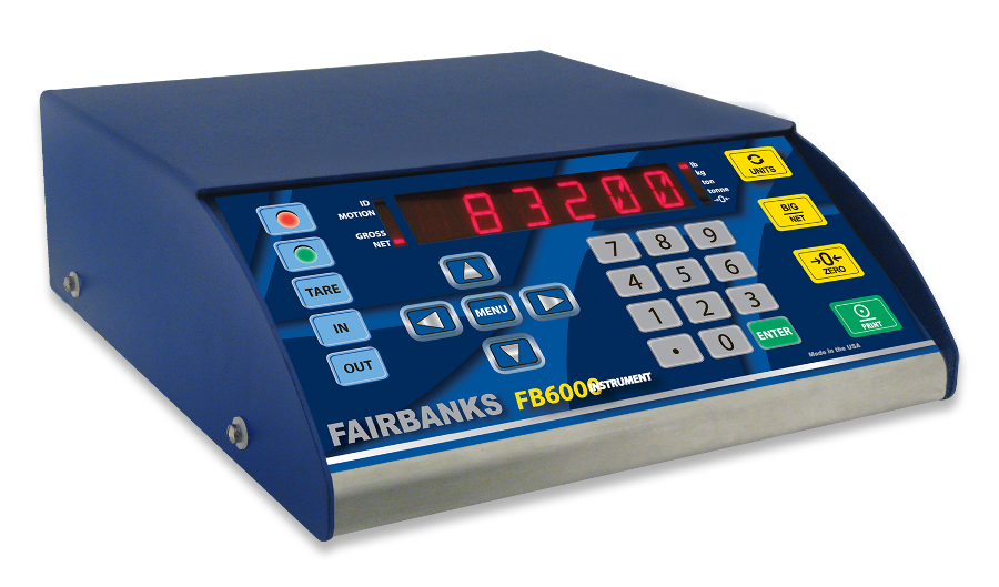 Fairbanks FB6000 scale