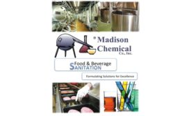 Food and Beverage Sanitation Solutions 900