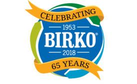 Birko anniversary logo