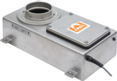 Eriez vertical metal detector