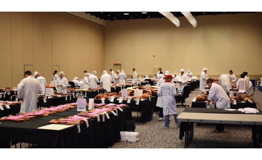 American Cured Meats Championships Judging
