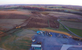 Construction of Bell & Evans' new chicken harvest facility