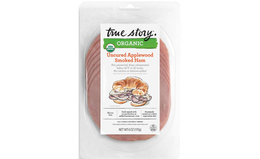 True Story Organic Uncured Applewood Smoked Ham