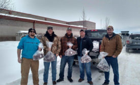 Hunters that donate product to Veterans Meat Locker are not charged processing costs